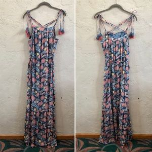 217ab34397 LOFT Dresses - LOFT maternity floral maxi dress boho summer